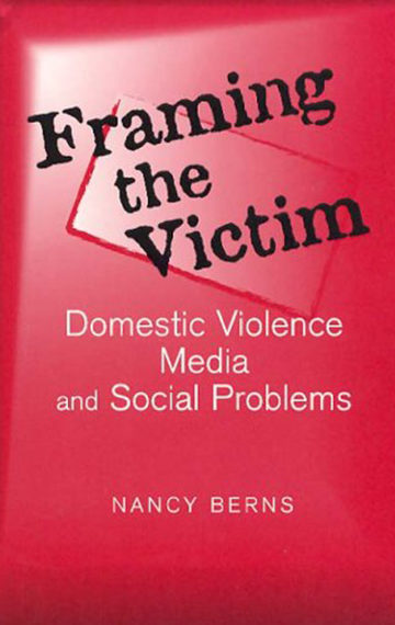 Book Cover - Framing the Victim
